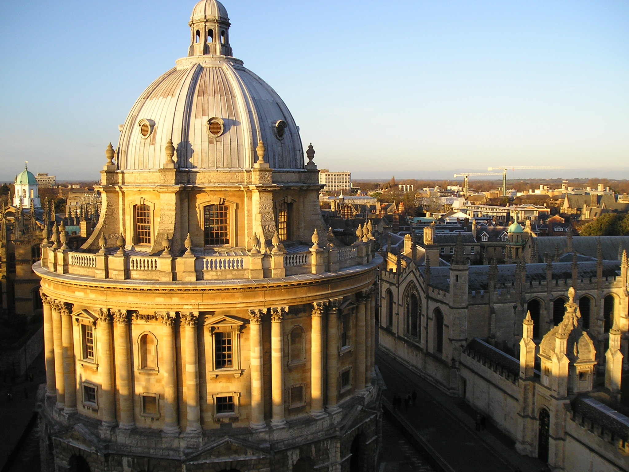radcliffe camera from st mary's