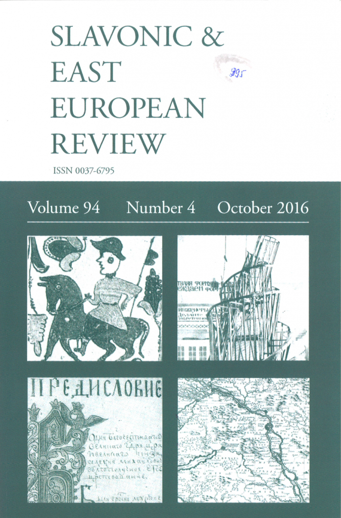 The Slavonic & East European Review