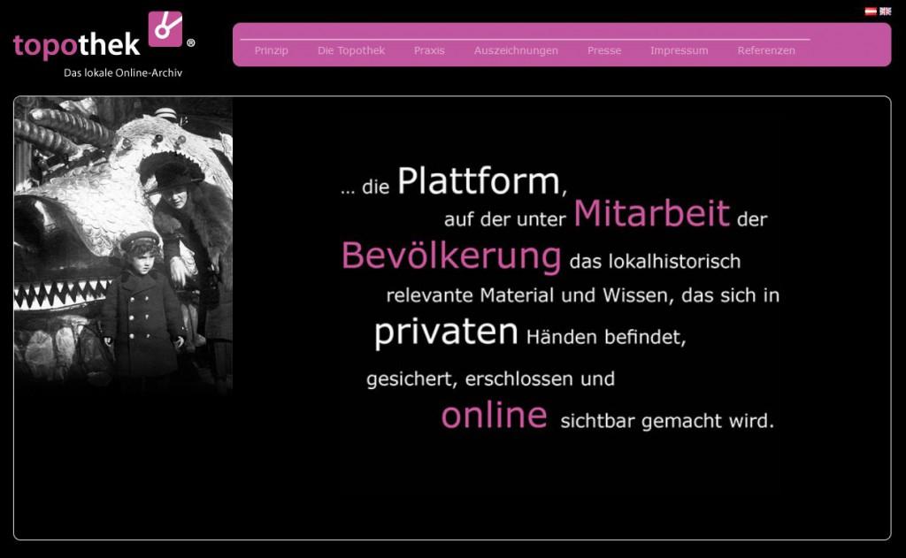 A projekt honlapja