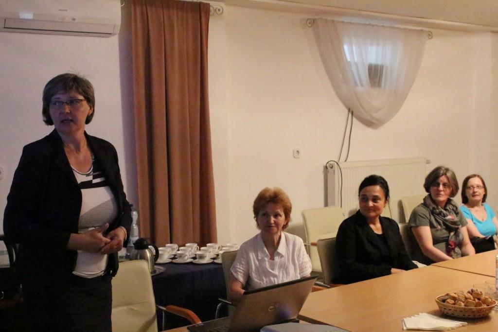 Szakmai látogatás a Magyarországi Szlovákok Könyvtára és Dokumentációs Központjában