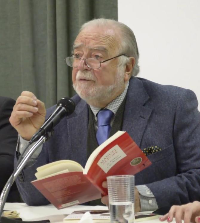 Manuel Alegre, a 2017-es Camões-díj nyertese