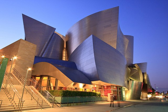 Walt Disney Concert Hall, Los Angeles 1.