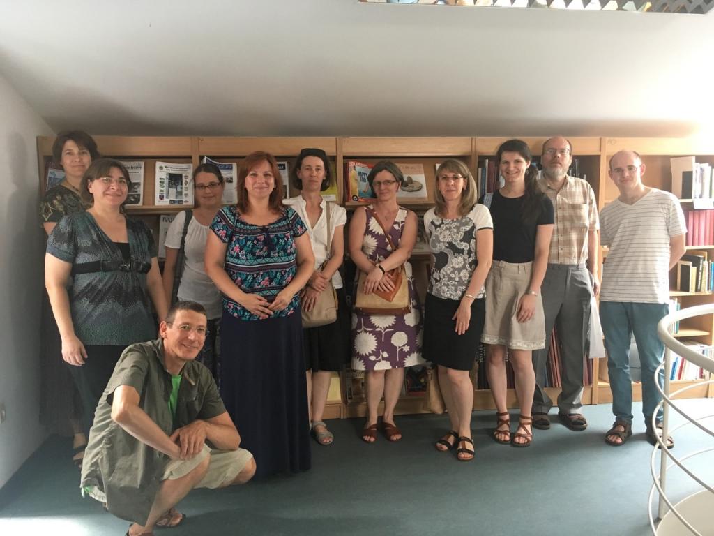 Szakmai látogatás a Magyarországi Németek Könyvtárában